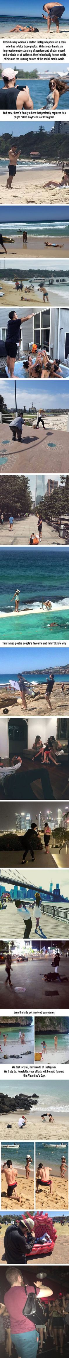 Boyfriends Of Instagram The Unsung Heroes Behind The Camera