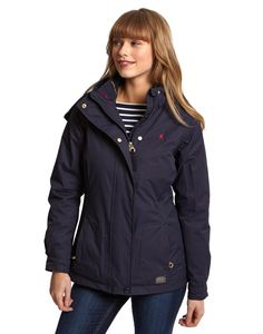 Joules Womens 3 in 1 Waterproof Jacket, Marine Navy.                     This ready-for-anything 3-in-1 jacket will make sure you're prepared come rain or shine. Wear the 100% waterproof jacket or quilted jacket separately, and for ultimate protection from the elements, zip them together. For the unpredictable British weather, this is a must-have coat to have to hand.