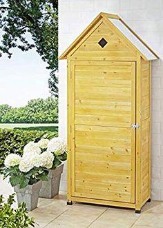 Westwood Holz Sentry Box Strand Hütte Schuppen Aufbewahrung Outdoor Schrank