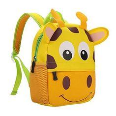 School Bag Backpack Kids Giraffe Waterproof Preschool Toddlers Travel Gift for sale online Felt Animal Patterns, Stuffed Animal Patterns, Toddler Travel, Kids Backpacks, Travel Gifts, Felt Animals, School Bags, Backpack Bags, Baby Boys