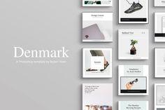 Denmark Social Media Pack by Ruben Stom on @creativemarket  #instagram #post #posting #story #stories #instagramstories #marketing #socialmediamarketing  #social #media #socialmedia