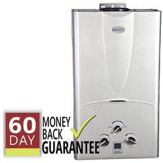 This 16L Marey gas tankless hot water heater will deliver up to 4.3 gallons per minute and will accommodate up to a 4 bath home. With this on-demand tankless, you'll never run out of hot water. Every Marey instant water heater comes with easy 60 day returns. Shipping is FREE.    This has been our most popular brand for years, and features a five year all-parts warranty. Works great and lasts forever. Please call us at 800-997-1716 if you have any questions. We'll have the answers. We&...
