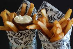 They originated here not in France. Get the recipe and learn about the culture at www. World Cuisine Belgium Food, Homemade Mayonnaise, Fries Recipe, French Fries, Chocolate, International Recipes, Vegetable Recipes, Food Print, Cooking