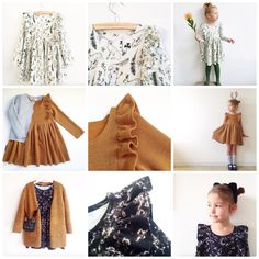 On this page you'll find the free pattern i recently designed: the Millie dress. It's a jersey dress with long slee...