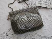 Whiting-Davis Silver Mesh Evening Bag.