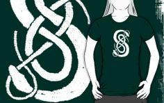 Loki's Snakes by amandamakepeace - Sold a dark green t-shirt. Thank you Loki fans!