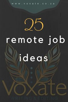 If you have the travel bug, but need to work, these remote job ideas might be the catalyst to massive adventure in your near future! Near Future, Job Work, Editing Writing, Work Travel, Remote, Adventure, Ideas, Adventure Movies, Adventure Books
