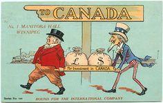 John Bull - Uncle Sam - Canada - 30337