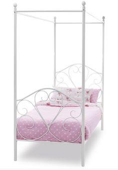 Serene Isabelle Four Poster Bed Frame