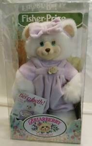 Briarberry Collection Fisher Price Berrybeth Bear 1998 New Plush Toy | eBay
