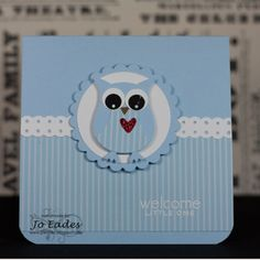 Very cute owl card