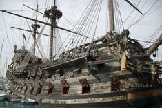 Old Pirate Ships | Old pirate ship | Stock Photo © Alex Timaios #3636074