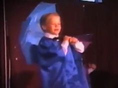 View this content on ExtraTV's website - Derek Hough age 4 - dancing Singin' in the rain