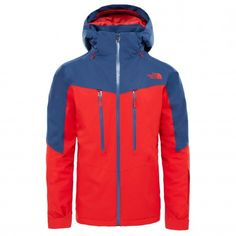 The North Face Chakal winterjas heren centennial red shady blue
