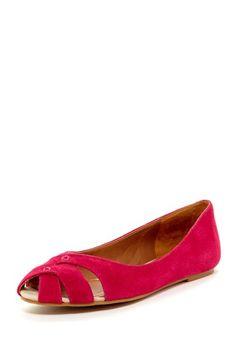 Ester Peep Toe Flats