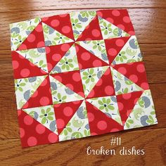 farmer's wife sampler, block 11 by quirky granola girl, via Flickr