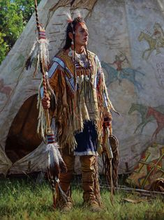 Dandy of the Crow - Martin Grelle Native American Face Paint, Native American Warrior, Native American Paintings, Native American Photos, Native American Tribes, Native American History, Indian Paintings, Tribal Images, American Indian Crafts