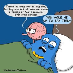 When the brain overthinks a d makes you lose sleep