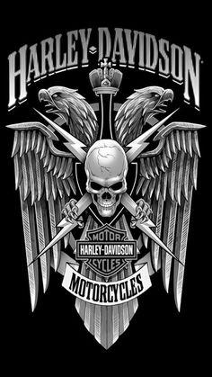 Harley Davidson art logo                                                                                                                                                      More