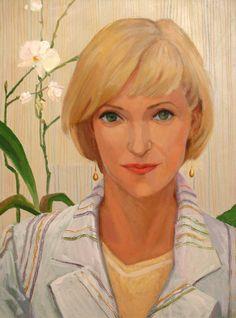 Александра Тарасова. Галерея. Работа «Портрет Казаковой О.М.»