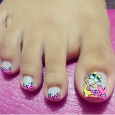 Toe nail art Toe Nail Art, Toe Nails, Manicure, Pretty Hands, Toe Nail Designs, Pretty Designs, Nail Arts, Hair Beauty, Lily
