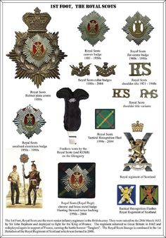 The Royal Scots. Wife's Great Grandfather John Montague's Regiment in the Great War.