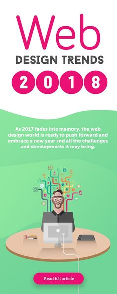 Top 10 web designs for 2018