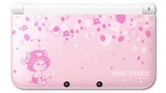 One Piece limited edition Pink 3DS, Japan