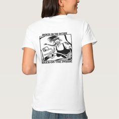 Broker Outside Biker Inside women's shirt back @ http://www.zazzle.com/broker_outside_biker_inside_womens_shirt_back-235537055995342843