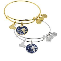 Jiminy Cricket ''When You Wish Upon a Star . . .'' Bangle by Alex and Ani | Bracelets | Disney Store