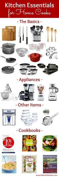 Kitchen Essentials List For Home Cooks
