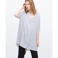 Zara Oversize Shirt (£32) via Polyvore