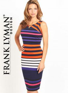 Frank Lyman Spring Dress -perfect for summer outings! #shoplocal #shopdevine #sundress