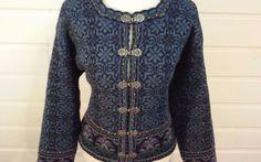 ICELANDIC Women's Multi-colored Nordic Style Sweater Cardigan Size LARGE EUC #IcelandicDesign #Cardigan