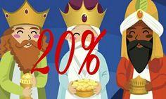 Regalo de Reyes..... 20% de descuento... En tienda y en http://belsuss.com