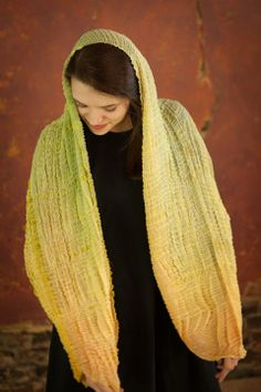 Bomaki Cocoon by NellieRose Textiles. American Made. See the artist's work at the 2014 Buyers Market of American Craft, Philadelphia, PA. January 18-21, 2014. americanmadeshow.com #fibers, #wearabletextiles, #textiles, #americanmade