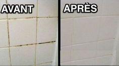 Astuces grand-mère pour nettoyer vos joints de salle de bain