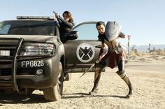 The Lady Sif's about to guest star on Agents of SHIELD. Supreme BAMF levels: imminent.