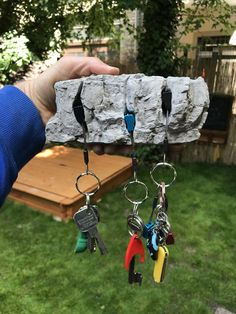 Keyholder for Climbers 3 key version image 1 Adams Homes, Painting Concrete, Rock Climbing Equipment, Rock Climbing Gear, Climbing Wall, Climbers, Outdoor Gear, Decoration, My Design