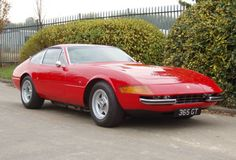 Ferrari 365 GTB/4 Daytona - one of my favourites when I was young