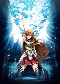 Hot japan anime sword art online asuna poster wall scroll home decor 8 Otaku Anime, Manga Anime, Art Manga, Sword Art Online Asuna, Kunst Online, Online Art, I Love Anime, Awesome Anime, Awesome Art