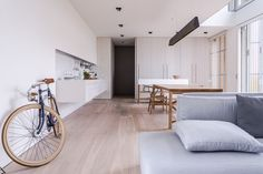 Home Interior Design — Minimal Living Room with natural lighting in Italy. Grange Restaurant, Casas Containers, Barn Renovation, Cocinas Kitchen, Storey Homes, Living Spaces, Living Room, Glass House, Interiores Design