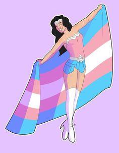 Trans Mtf, Transgender Ftm, Transgender Symbol, Lgbt Anime, Trans Boys, Trans Gender, Lgbt Community, Gay Pride, Wonder Woman
