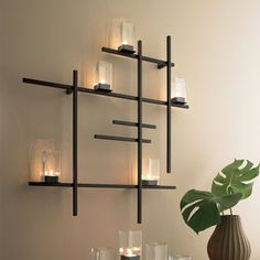 Grid Lights Black, $130, now featured on Fab.