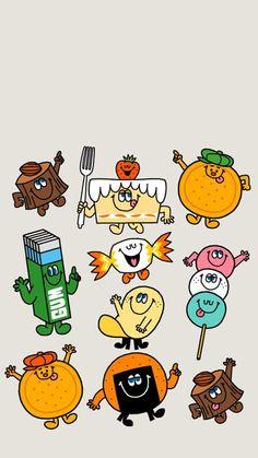 Simple Character, Character Design, Cartoon Wallpaper, Cool Wallpaper, Character Illustration, Digital Illustration, Doodle Inspiration, Pin Art, Food Drawing