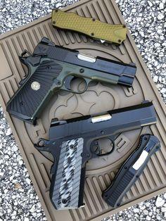 BATTLE OF THE BULLS: Dan Wesson ECP Vs Wilson Combat ULC -The Firearm Blog Firearms, Shotguns, Bushcraft, Wilson Combat, 1911 Pistol, Fire Powers, Home Defense, Cool Guns, Tool Steel