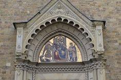 В Тоскану в феврале - Ареццо... Церковь Сан-Микеле (13 век)