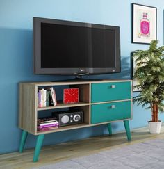 Accentuations by Manhattan Comfort 3AMC126 - Dalarna TV Stand