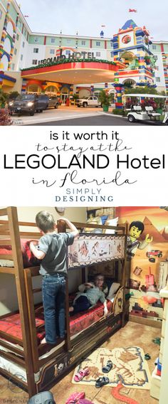 Is it worth it to stay at the Legoland Hotel in Florida? This post will tell you all about it!