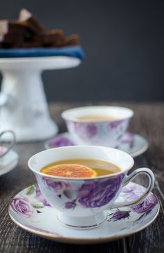 Spiced tea is my perfect winter comfort drink. I'ts filled with vitamin C-rich citrus and will warm you from the inside out during the dull winter days! Tea Cup Art, Tea Cups, Orange Juice Concentrate, Beer Recipes, Drink Recipes, Winter Drinks, Summer Parties, Tea Parties, The Breakfast Club